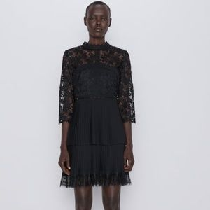Zara Dresses - NWT, ZARA Contrast Lace Dress